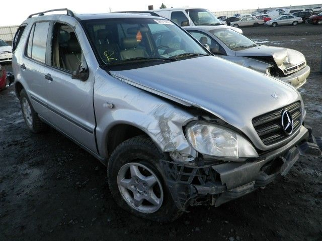 2000 mercedes-benz ml320 front body bumper reinforcement  front 163 type   ml320 and ml430 and ml55  107 CK-OK,6/13