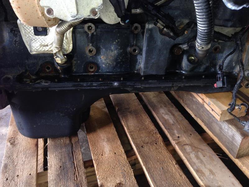 2006 dodge truck dodge 3500 pickup engine oil pan 5 9l for Who picks up used motor oil