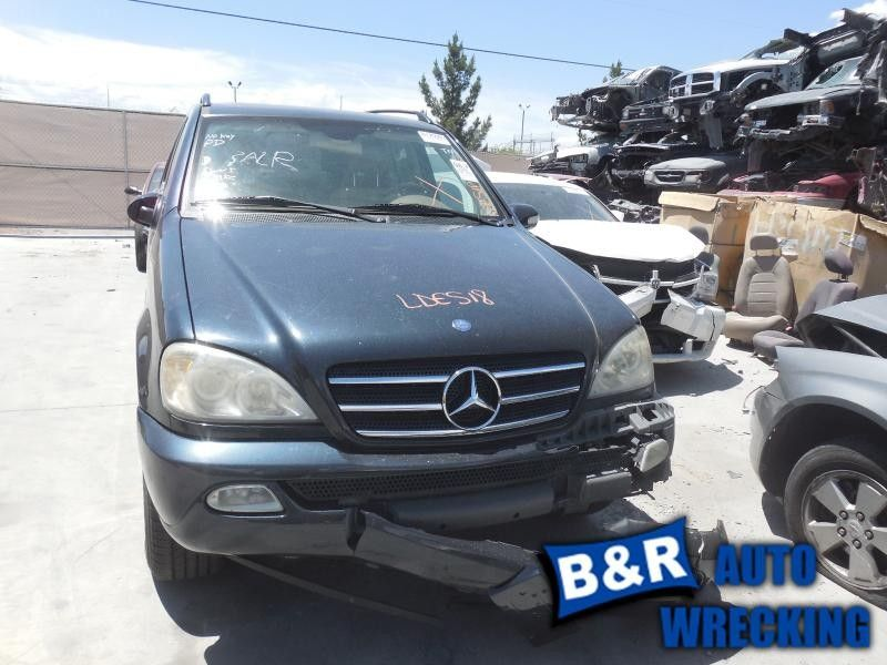 2000 mercedes-benz ml320 front body bumper reinforcement  front 163 type   ml320 and ml430 and ml55  107 4DR,REINFORCEMENT ONLY-WELDED