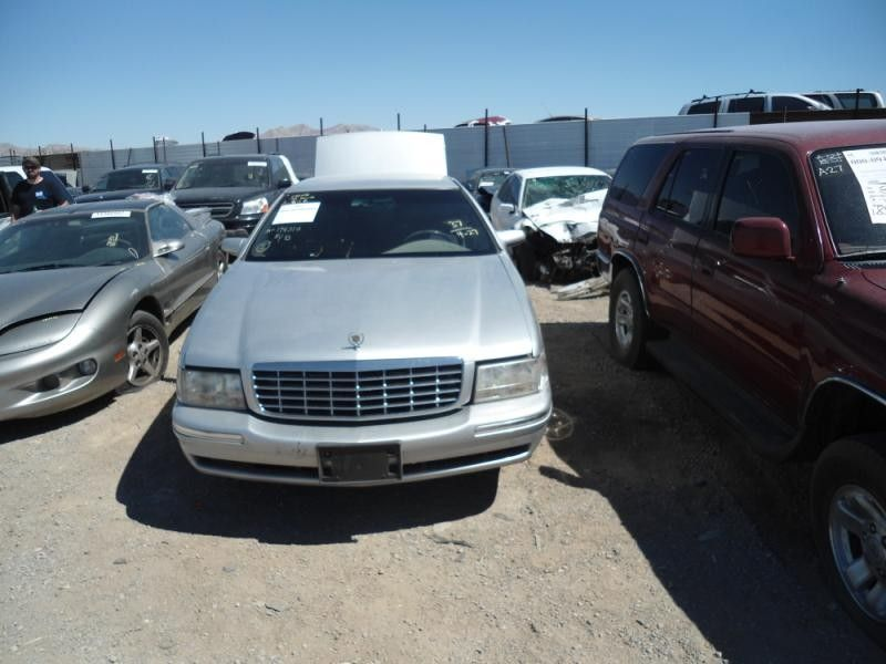 1999 cadillac deville lights headlamp assembly right  |  114 4DR,[NB],STRESS CRACKS