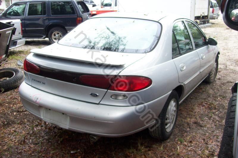 1998 ford escort fuel pump access