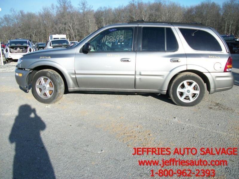 2003 Oldsmobile Bravada Rear Body Quarter