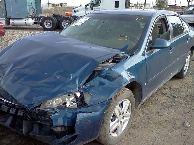 2006 chevrolet impala rear-body impala quarter panel assembly |  160 BLU,LS,5D1