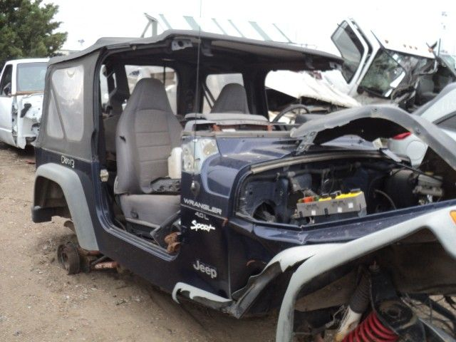 1997 jeep wrangler interior dash panel lhd |  251 GRY,BAG BLOWN