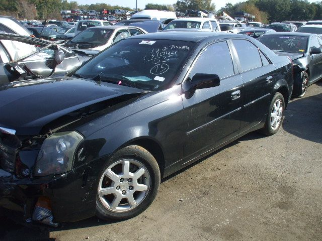 2003 cadillac cts suspension-steering cts spindle knuckle front 515 BLK,12-10