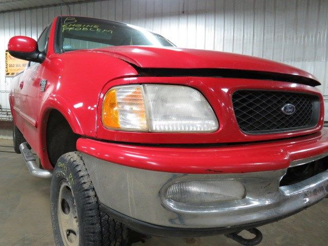1997 ford truck ford f150 pickup front body radiator core support 109 3-98,4.6L,AT4,XLT