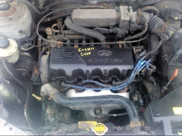 2000 hyundai accent engine accent engine assembly |  300 1.5,150-155 COMP,25 OIL HOT,-R-