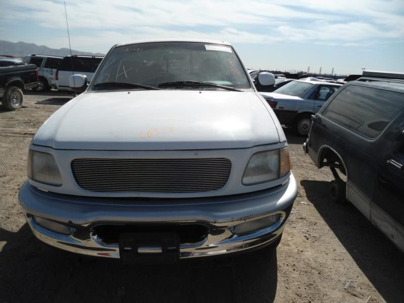 1997 ford truck ford f150 pickup front body radiator core support 109 XCSB4X4,WHT