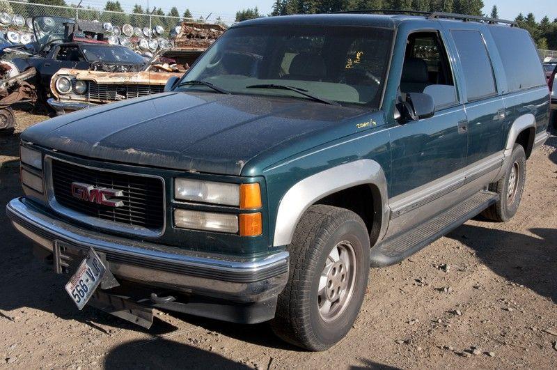1999 chevrolet truck suburban 1500 suspension steering frame 4x4 gasoline part 500 03528b