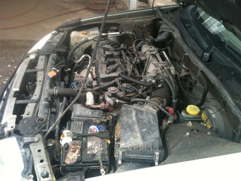 """2000 nissan sentra engine-accessories sentra fuel pump 323 KV9""""OLIVE"""",1.8L,EFI,FWD TESTED"""
