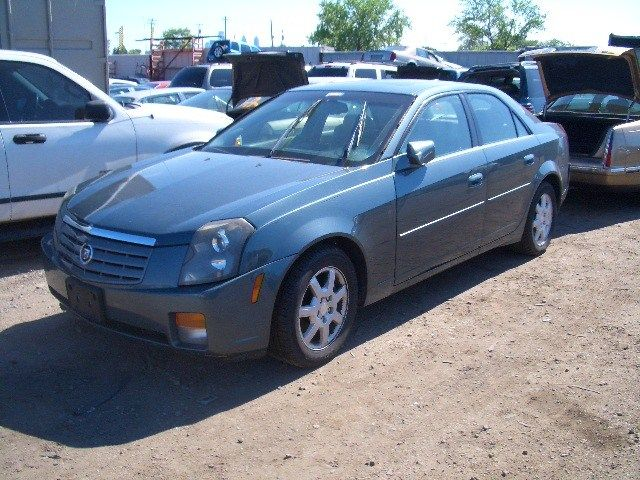 2003 cadillac cts suspension-steering cts spindle knuckle front 515 good