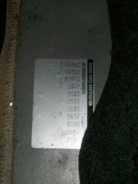 2006 chevrolet impala rear-body impala quarter panel assembly |  160 NICE ,REG CUT