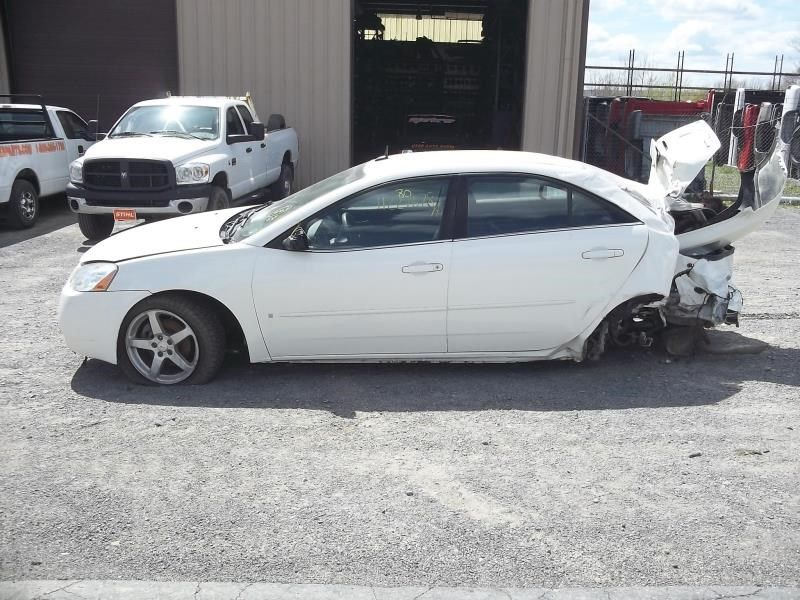 2008 Pontiac G6 Cooling And Heating 671 Coolant Reservoir