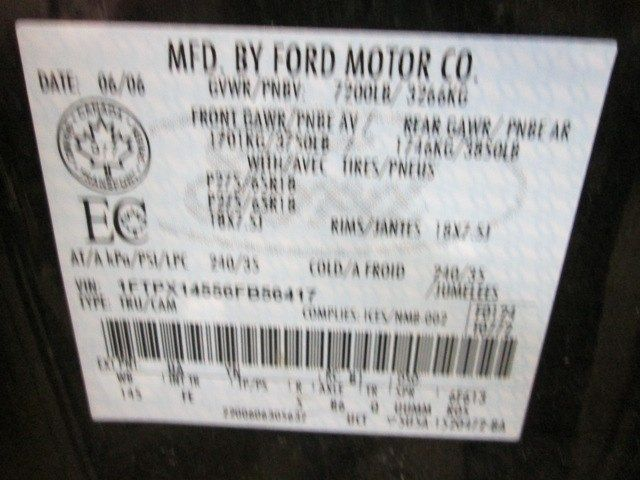 2004 ford truck f150 interior f150 seat  front |  202 RITE S.CAB MED GREY FE,CL MAN W.BELT