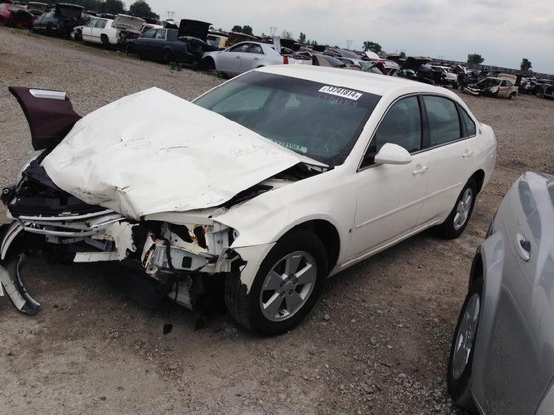 2006 chevrolet impala rear-body impala quarter panel assembly    160 5D1,RH,WHT,4DR,4/06