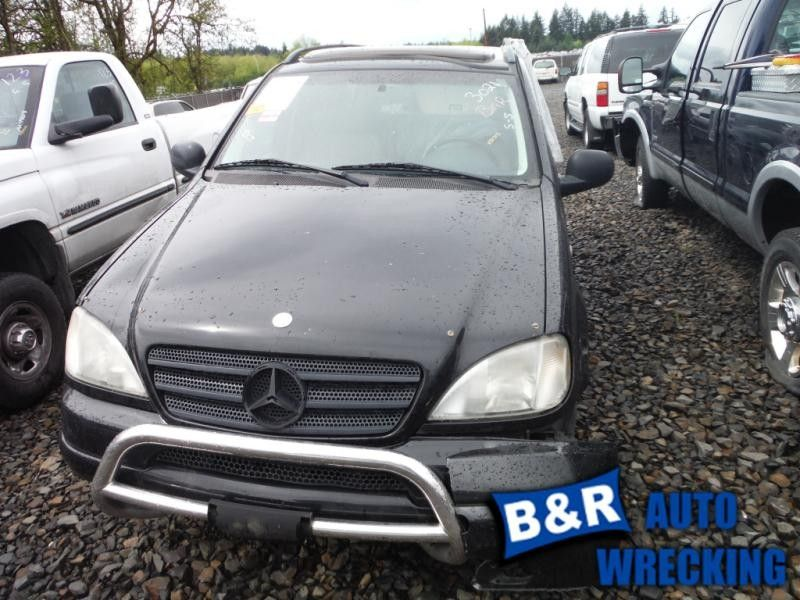 2000 mercedes-benz ml320 front body bumper reinforcement  front 163 type   ml320 and ml430 and ml55  |  107 4DAWD