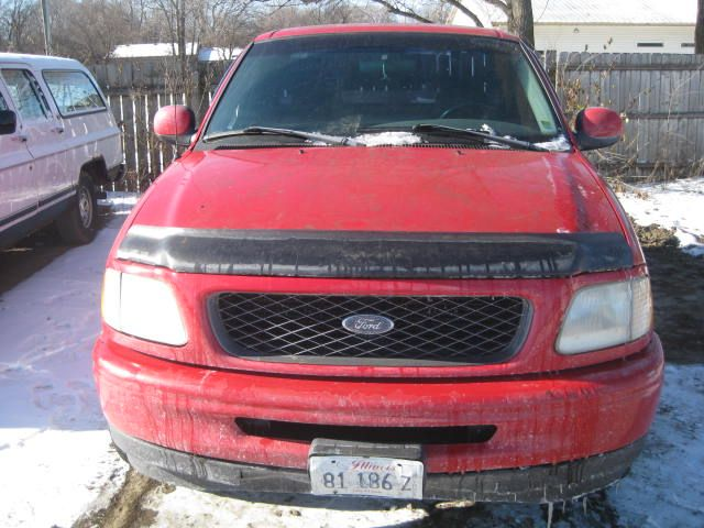 1997 ford truck ford f150 pickup front body radiator core support    109 MAN,RWD
