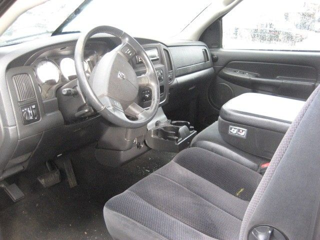 2004 Dodge Truck Dodge 3500 Pickup Interior 210 Front Seat Belts
