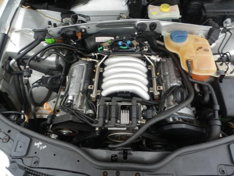 Used 2002 Volkswagen Passat Engine Oil Pan 2 8l Upper Part