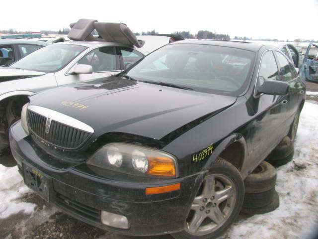 2001 lincoln linc-ls engine-accessories linc ls power steering pump motor |  553 RWD