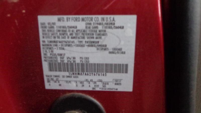 2001 lincoln linc-ls engine-accessories linc ls power steering pump motor |  553 L., 8 CYL