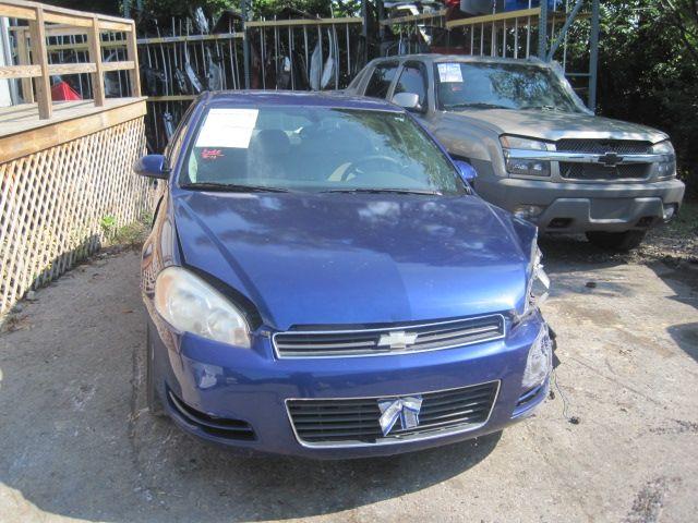 2006 chevrolet impala rear-body impala quarter panel assembly |  160 BLUE,DENT 2HR