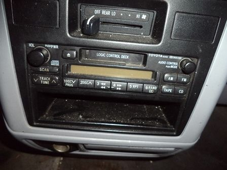 1998 toyota 4-runner electrical 4 runner radio audio |  638 CE,3.0L,GRY
