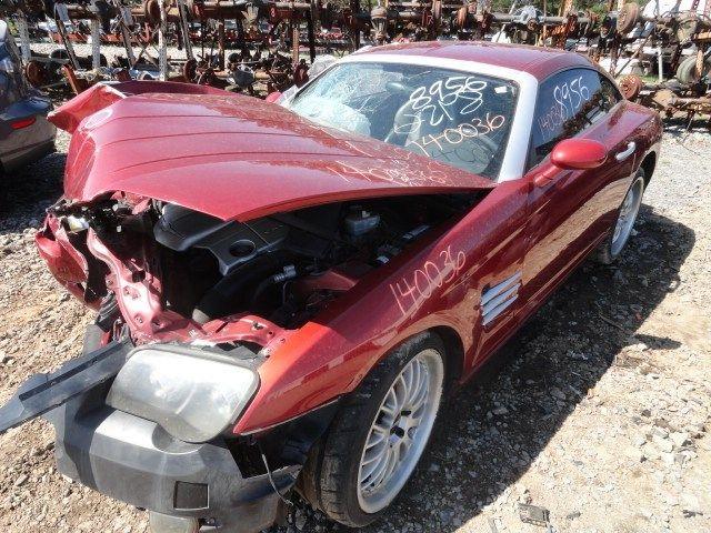 Biloxi Auto Recycling >> 2004 Chrysler Crossfire Transmission 431 Drive-shaft--rear ...