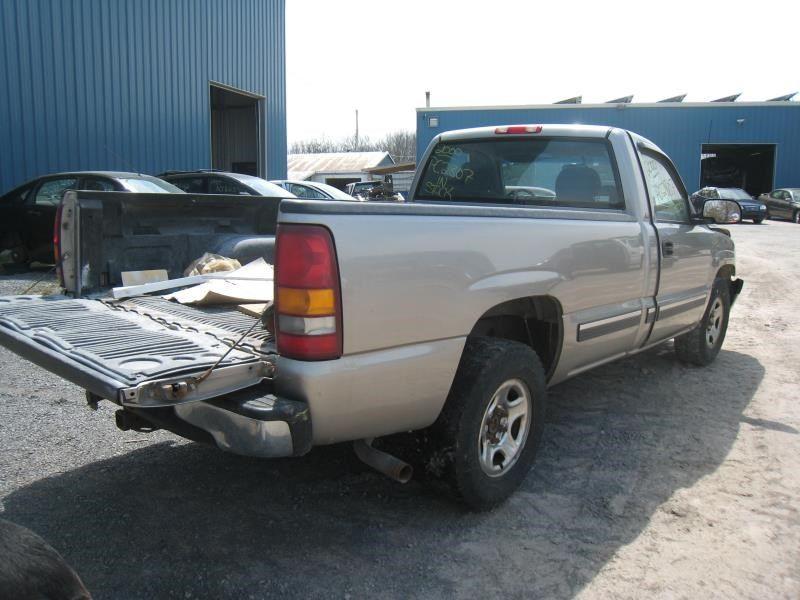 2000 chevrolet truck silverado 1500 pickup rear body 155 pickup b. Black Bedroom Furniture Sets. Home Design Ideas