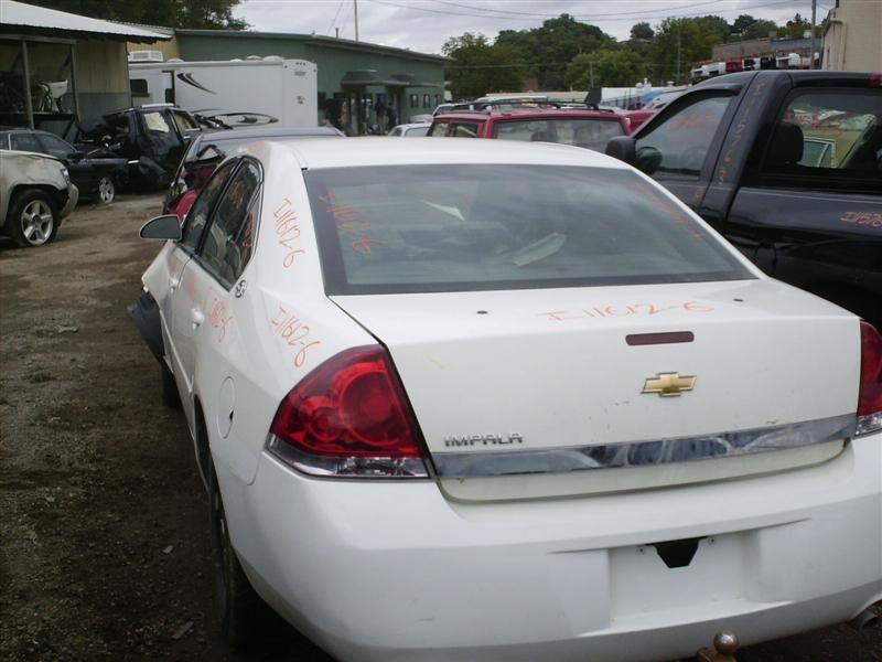 2006 chevrolet impala rear-body impala quarter panel assembly    160 WHT-8554,6D2,6T1,STICKER RESISDUE