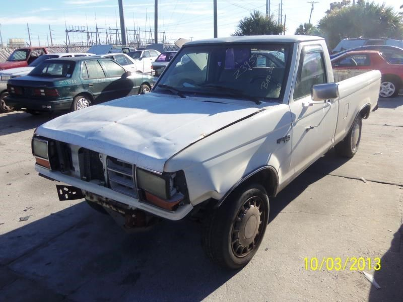 1990 ford truck bronco-ii suspension-steering bronco ii steering column |  238 XLT,NO KEY,5SP,GRY,PLAIN