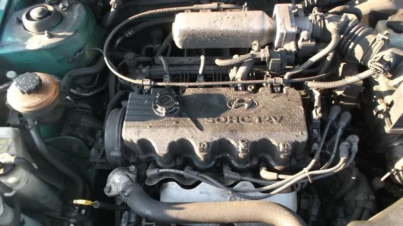 2000 hyundai accent engine accent engine assembly |  300 GRN,GL,4DR,1.5L,AOT,12-12,DNR