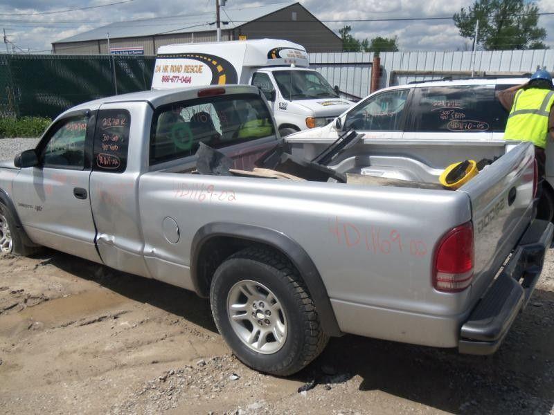 2002 Dodge Truck Dakota Interior 210 Front Seat Belts 210 02022 C