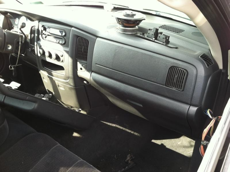 2004 Dodge Truck Dodge 1500 Pickup Interior 251 Dash Panel