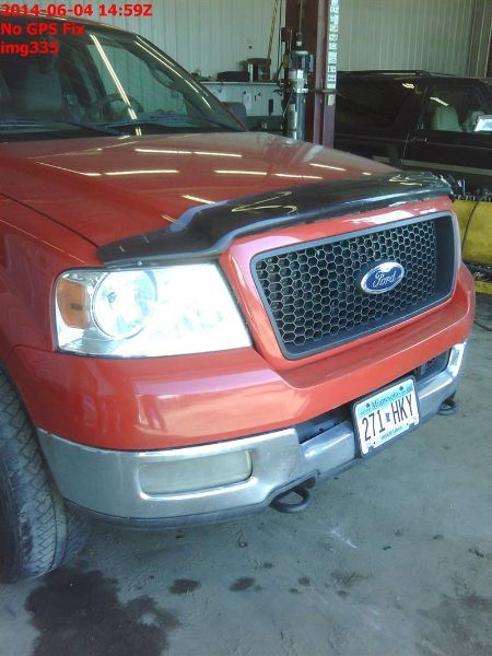 2004 ford truck f150 front-body f150 headlamp assembly |  114 LT SANDPITS,MIGHT CLEAN UP