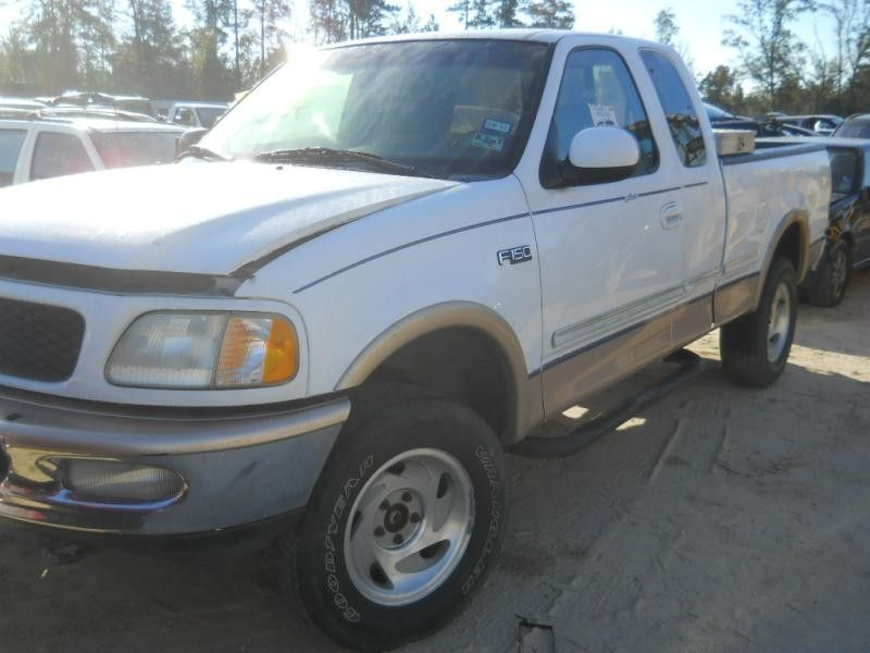 1997 ford truck ford f150 pickup front body radiator core support 109 LAR,4.6,AT,4x4